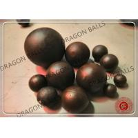 Quality Mining Forged Grinding Media Balls Low Breakage Good Wear Resistance for sale