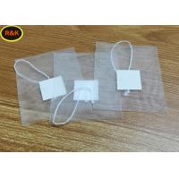 China 100 Mesh Rosin Nylon Mesh Filter Tea Bags With Drawstring For Tea Filter on sale