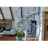Quality Best price stainless steel stair railing glass spiral staircase for sale