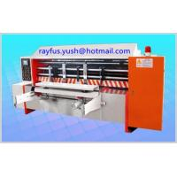 Quality Auto Lead Edge Rotary Die Cutter / Rotary Die Cutting Machine For Corrugated for sale