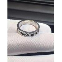 Tiffany  gold of Roman numeral ring 18kt gold  with yellow gold or white gold