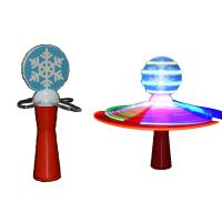 China Commercial Galaxy Kids Spinning Light Wand Toy ABS Material For Event Party on sale