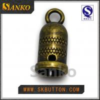 Quality High quality high colors metal stopper ending for the garment accessories for sale