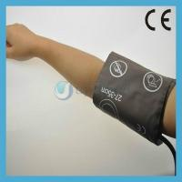 China Brown color Adult single tube Blood pressure cuffs on sale