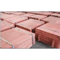 Quality Pure Cathode Copper in Stock!!Electrolytic Copper Cathode Copper 99.99% from China for sale
