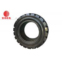 China 8.25-16 Solid Industrial Tyres , Forklift Wheels And Tires 6.50 Rim on sale