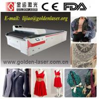 China Fast Fashion Apparel Laser Cutter With CAD Software on sale