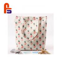 China Beautiful Appearance Cloth Shopping Bags , Eco Shopping Bags Elegant Pattern on sale