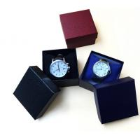 Quality watch box gift box paper box pillow watch display for sale