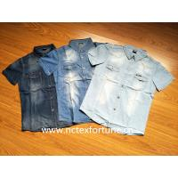 China Men Cotton Fashion Casual Jeans Jacket & Dress Jeans Shirts on sale