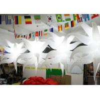 Quality Unique Shaped Hanging Seastar Led Light Balloon Lighting Inflatable Club Decorations for sale
