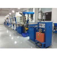 Quality Automated Plastic Wire Production Line , Pvc Cable Manufacturing Machine 500 M/ Min for sale