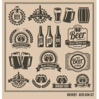 Quality beautiful beer sticker/label for sale