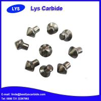 Quality Cemented carbide buttons F types sharp claw button,J & JC types auger tips button, Point attack bits for sale