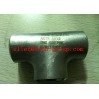 """Quality TOBO STEEL Group  2"""" X ¾"""" 3000# SW RED TEE, 304/L- PMI TESTED for sale"""