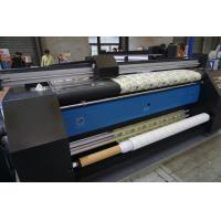 Quality 2.2m Textile Digital Fabric Printing Machine Heating Inside Flag Cloth Printer for sale