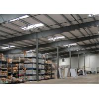 Quality Earthquake Proof Steel Structure Workshop With Insulation Color Steel Sheet for sale