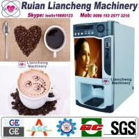 Quality coffee pod machine  Bimetallicraw material 3/1 microcomputer Automatic Drip coin operated instant for sale