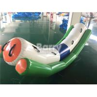 China Commercial Grade Inflatable Toys Water Teeter Totter Seesaw For 4 Peoples On Water wholesale