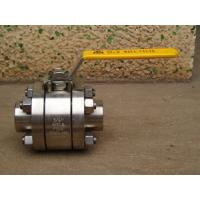 800lb 3PC Forged Steel Ball Valve (Threaded End)