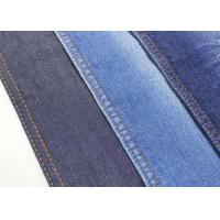 Quality 10.3oz Stretch Denim Fabric Twill Jeans Material Classic Blue Color W186 86*56 Density for sale