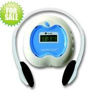 Quality apple-shaped electronic fetal doppler monitor for user at home with headphone Wholesale price with figure dispaly for sale