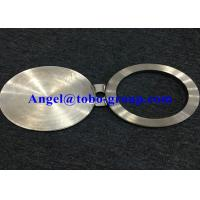 Buy cheap Forged Flange Nickel Alloy NO8825 6'' CL150 Spectacle line blinds ASME B16.48 from wholesalers
