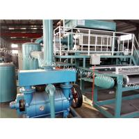 Buy Electrostatic Spraying Pulp Egg Tray Making Machine For Egg Box / Egg Cartons at wholesale prices