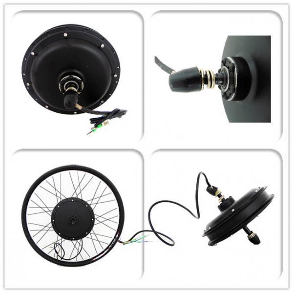 48v 750W Brushless Hub Motor High Performance For Ebike Conversion Kit