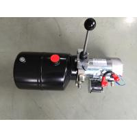 Quality Forklift Single Acting Mini 12vdc Hydraulic Power Packs With Steel Tank for sale