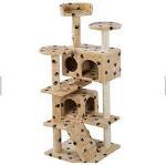 Quality Professional Manufacturer Wholesale Pet Cat Toys Castle Cat Tree House Products for sale