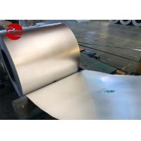 Quality Hot Dipped Cold Rolled Galvanized Sheet Metal Coils 600 - 1500mm Width for sale