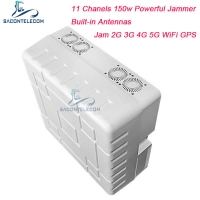 Quality 150w Powerful Mobile Phone Signal Jammer Block 2G 3G 4G 5G Long Distance for sale