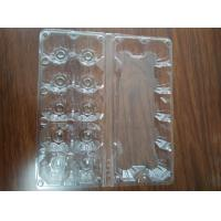 Quality Clear plastic tray for eggs S size M size L size for sale