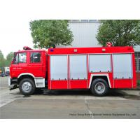 Quality Fire Fighting Vehicles For Emergency Fire Rescue , Fire Service Truck Dongfeng for sale