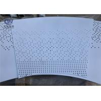 Buy cheap Lighting Decorative Fence Aluminium Perforated Metal Sheet 3003 Hole Shape from wholesalers