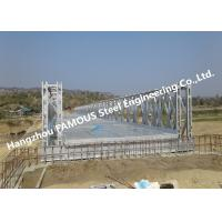 Quality High Performance Temporary Galvanized Surface Steel Bailey Bridge with Heavy Load Capacity for sale