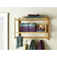 China wall mounted shower towel shelves for bathroom on sale