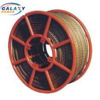 China 15mm Load 158KV Galvanized Anti Twist Wire Rope For Construction on sale