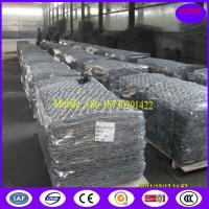 Quality Galvanized Zinc-Aluminium Alloy Gabion Basket for sale