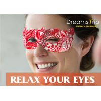 Quality Magic Visible Real Steam Mask Self heating Warming Spa for Dry Eyes or Relax for sale