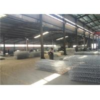 Quality Hot Dip Galvanized Hexagonal Wire Mesh Gabion Boxes For Soil Erosion Preventing for sale