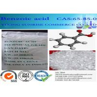 Quality White Mercerized Flake Benzoic Acid Food Additive CAS 65-85-0 C6H5COOH for sale