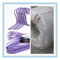 Quality Galvanized steel wire for clothes/coat hanger,hanger wire for sale