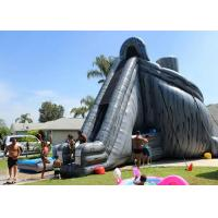 China Giant Inflatable Slide 33ft High Hurricane Water Slide Inflatables For Adults wholesale