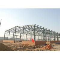 Buy Industrial Steel Construction Prefab Warehouse Building Q235 / Q345 Material at wholesale prices