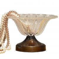 Quality 2015 new wedding glass fruit bowl for sale