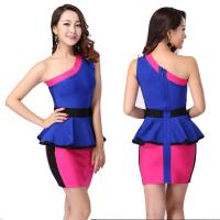 Quality Newest cultivate office ladies two color short tight bandage dress for sale