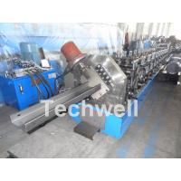 Quality C Purlin Cold Roll Forming Machine With 18 Main Roller Stations For Thickness 1.5-3.0mm TW-C300 for sale