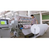 Buy cheap Industrial Two Needle Row Multi Needle Quilting Machine 2.4M Quilt Making from wholesalers
